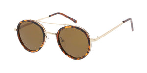 3668 Unisex Combo Small Round Vintage Inspired Hipster Frame