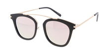 4193RV Women's Combo Medium Single Brow Frame w/ Color Mirror Lens