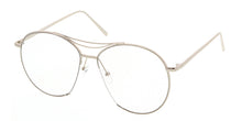 4308CLR Women's Metal Large Round Frame w/ Clear Lens