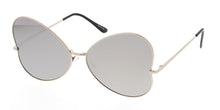 4311RV Women's Metal Large Butterfly Wire Frame w/ Color Mirror Lens