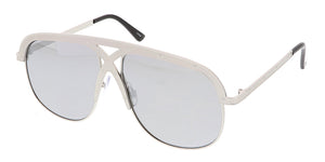 4375RV Unisex Retro Metal Criss Cross Frame