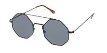 4420 Unisex Metal Retro Octagon Aviator