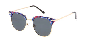4465 Women's Combo Medium Multi-Color Printed Clubber Frame