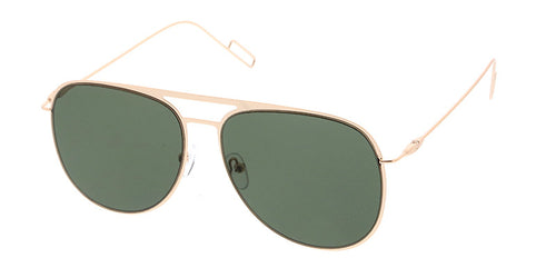 4492 Unisex Metal Square Aviator