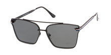 4506 Unisex Metal Rimless Square Aviator