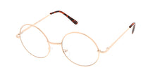 4550CLR Unisex Metal Round Clear lens
