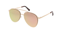 4580RV Unisex Metal Aviator w/ Color Mirror Lens