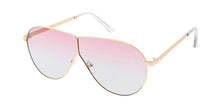 4616COL Women's Metal Large Wire Frame w/ Two Tone Lens
