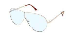 4617COL Unisex Metal Large Wire Frame w/ Color Lens