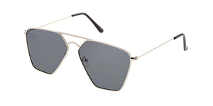 4635 Unisex Metal Geometric Aviator