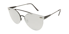 4668RV Unisex Metal Rimless Frame w/ Color Mirror Lens
