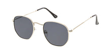 4671 Unisex Classic Metal Rounded Square Small Frame