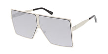4709RV Unisex Metal Oversized Square Flat Frame w/ Color Mirror Lens