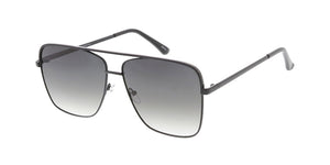 4808 Unisex Metal Large Square Aviator