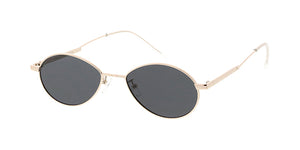 4833 Unisex Metal Small Oval Frame