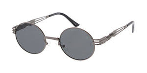 4857 Unisex Metal Medium Vintage Inspired Oval Frame