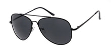 4941MH Unisex Metal Large Aviator Assorted Color Frame w/ Dark Smoke Lens