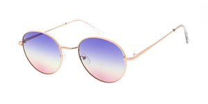 4942COL Women's Metal Medium Rounded Hipster Frame w/ Tri Color Lens