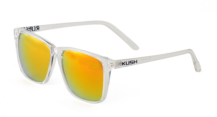 6303KSH/RV KUSH Plastic Crystal Frame w/ Color Mirror Lens