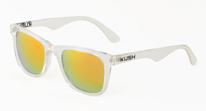 6375KSH/RV KUSH Plastic Crystal Frame w/ Color Mirror Lens