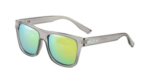 6379KSH/RV KUSH Plastic Crystal Smoke Frame w/ Color Mirror Lens