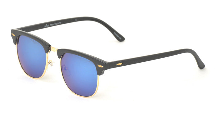 6614RV Unisex Combo Clubbers w/ Color Mirror Lens