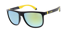 6687KSH/RV KUSH Plastic Medium Rubber Injected Frame w/ Color Mirror Lens