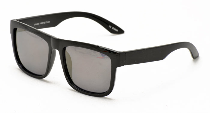 6788ME/RV Men's Plastic Casual Frame w/ Color Mirror Lens