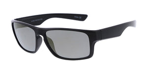 6842ME/RV Men's Plastic Casual Frame w/ Color Mirror Lens