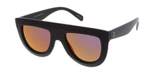 7216RV Women's Plastic Flat Top w/ Color Mirror Lens