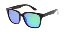 7229ME/REV Men's Plastic Casual Frame w/ Spectrum Color Mirror Lens