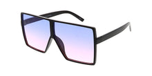 7319COL Women's Large Plastic Square Frame w/ Two Tone Lens