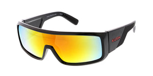 7348KSH/RV KUSH Plastic Shield Frame w/ Color Mirror Lens