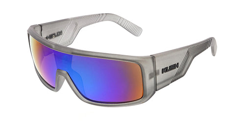e7d1302bef3d 7349KSH RV KUSH Plastic Matte Crystal Grey Shield w  Color Mirror Lens