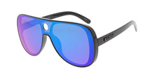 7415KSH/RV KUSH Plastic Large Shield Aviator Frame w/ Color Mirror Lens