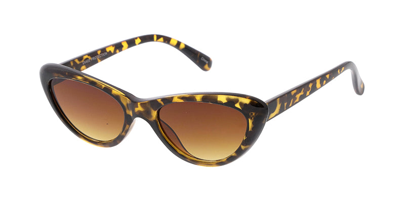 7434 Women's Plastic Small Cat Eye Frame