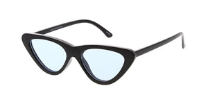 7462COL Women's Plastic Small Cat Eye Frame w/ Color Lens