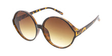 7464 Women's Plastic Oversized Rounded Vintage Inspired Frame