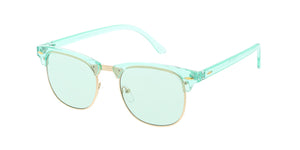 7475CRY/COL Unisex Combo Monochromatic Color Clubber Frame w/ Color Lens