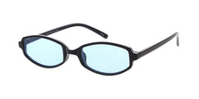 7534COL Women's Plastic Small Rounded Rectangular Frame w/ Color Lens