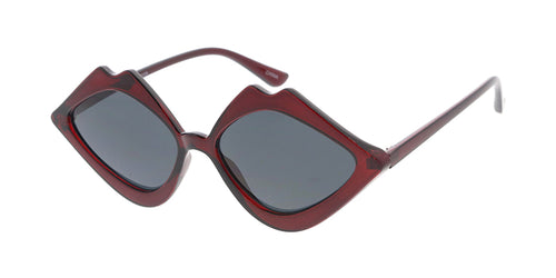 7617 Women's Plastic Medium Lips Frame