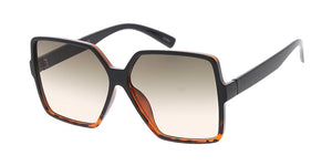 7669 Women's Plastic Large Square Frame
