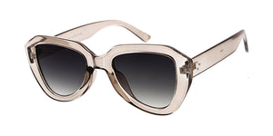 7868 Women's Plastic Medium Chunky Geometric Frame