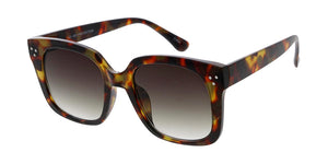 7901 Women's Plastic Large Chunky Square Frame