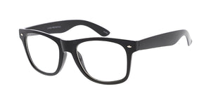 8068CLR Unisex Plastic Standard WF Frame w/ Clear Lens (Single Color)