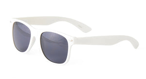 8500-WHT Unisex Plastic White WF Frame w/ Smoke lens (Single Color)
