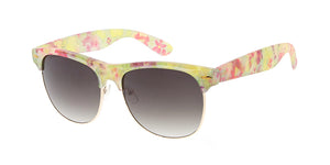 8791FLR Women's Combo Large Clubber Frame w/ Floral Print