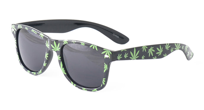 9115 Unisex Plastic Cannabis Print WF Frame (Single Color)