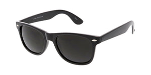 9473-BLK Unisex Plastic Black WF Frame (Single Color)