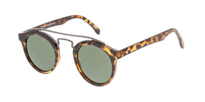 9479 Unisex Combo Small Round Double Bridge Vintage Inspired Hipster Frame
